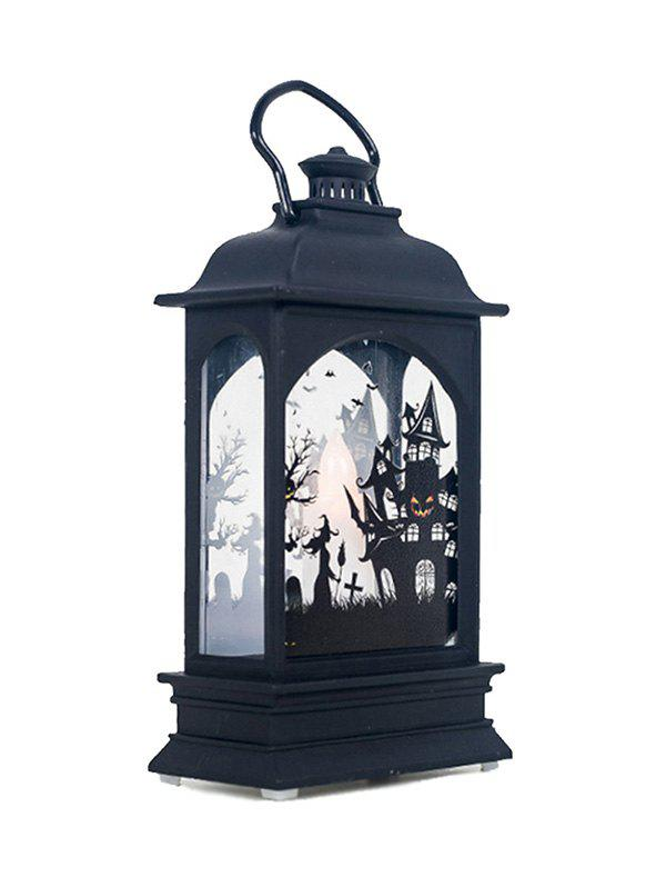 Lampe LED Décoration Vintage Motif d'Halloween - multicolor C