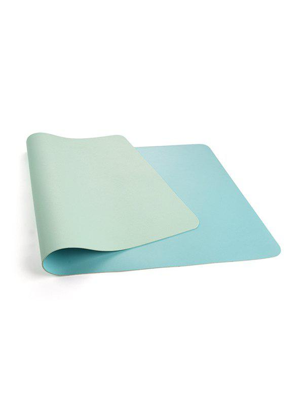 PU Office Desk Pad - AQUAMARINE