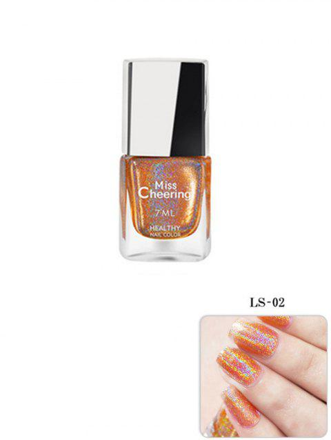 7ml UV Gel Glitter Nail Polish - GOLDENROD