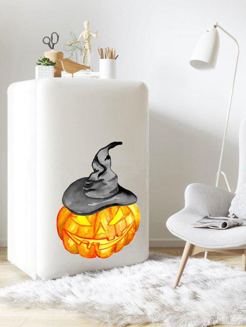 Sticker décoratif mural, imprimé citrouille d'Halloween - multicolor B 30*45CM