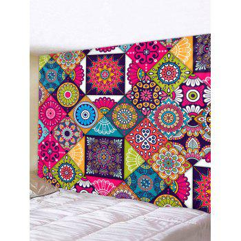 Bohemian Patchwork Printed Tapestry Wall Hanging Decoration