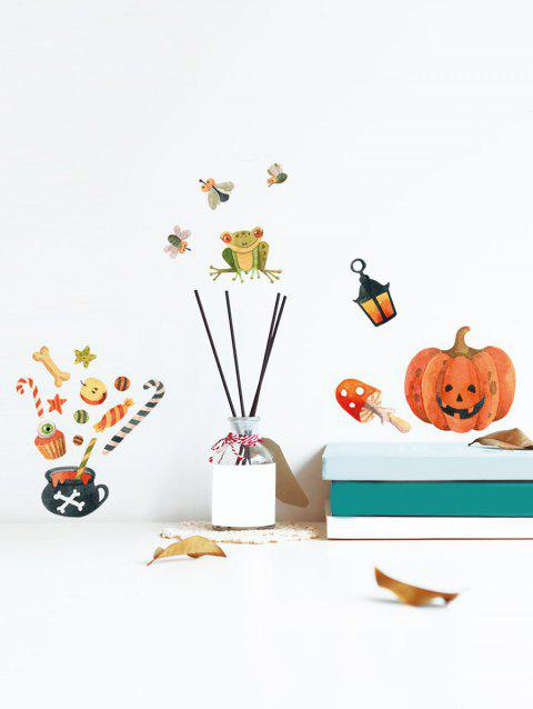 Motif Halloween Décorations murales - multicolor 14.8*21CM*6PCS