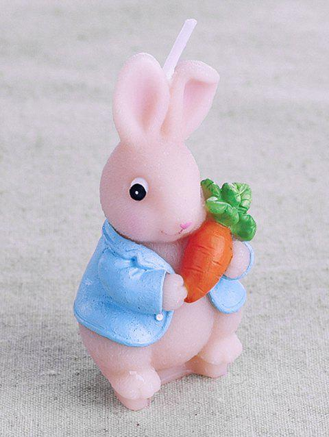 Cute Carrot Rabbit Candle - multicolor A 1 PC CANDLE
