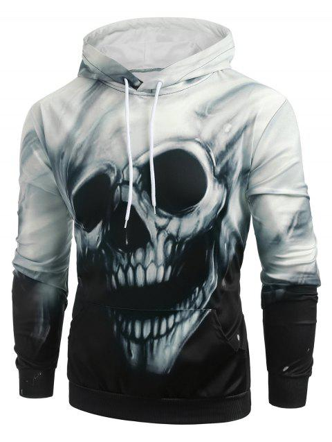 Sweat à capuche avec poche graphique kangourou Halloween - multicolor XL