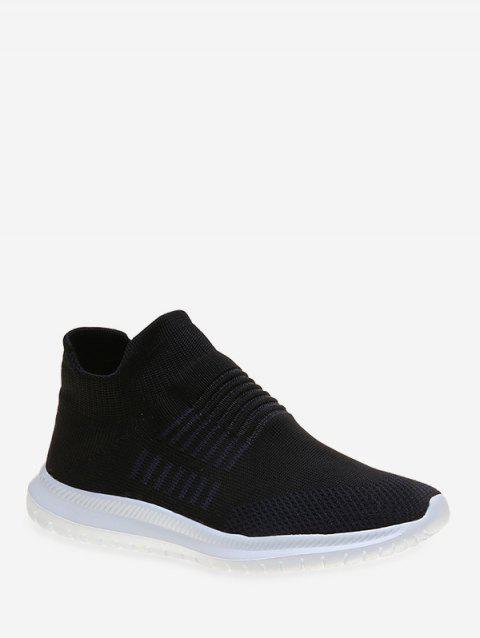 Simple Style Solid Color Casual Shoes - BLACK EU 41