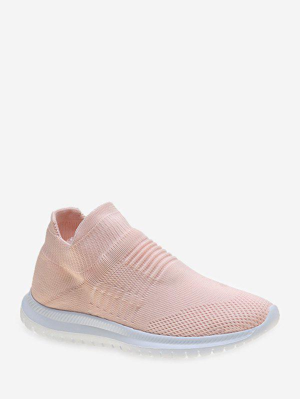 Simple Style Solid Color Casual Shoes - DEEP PEACH EU 42