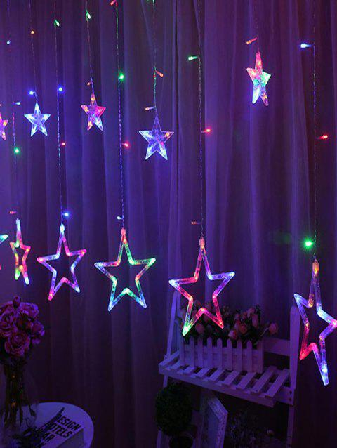 2.5 Meters Star Shape Decorative LED String Lights - multicolor A