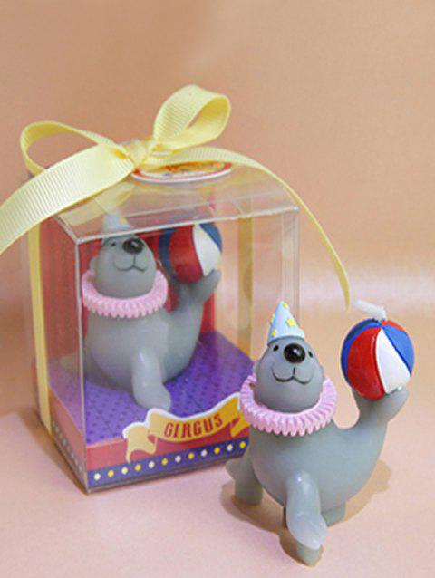 Circus Animal Shaped Candle - multicolor B