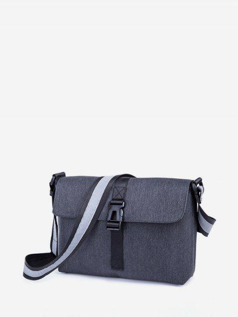 Nylon Casual Simple Crossbody Bag - GRAY