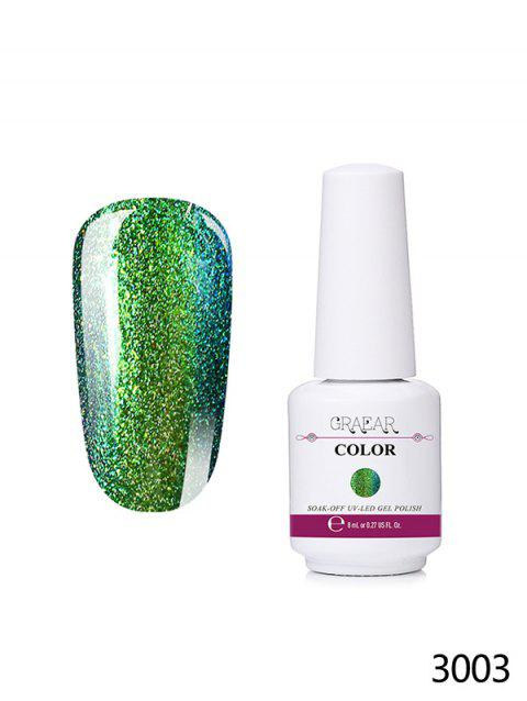 Soak-off Glitter Color-changing Nail Beauty Nail Polish - 003