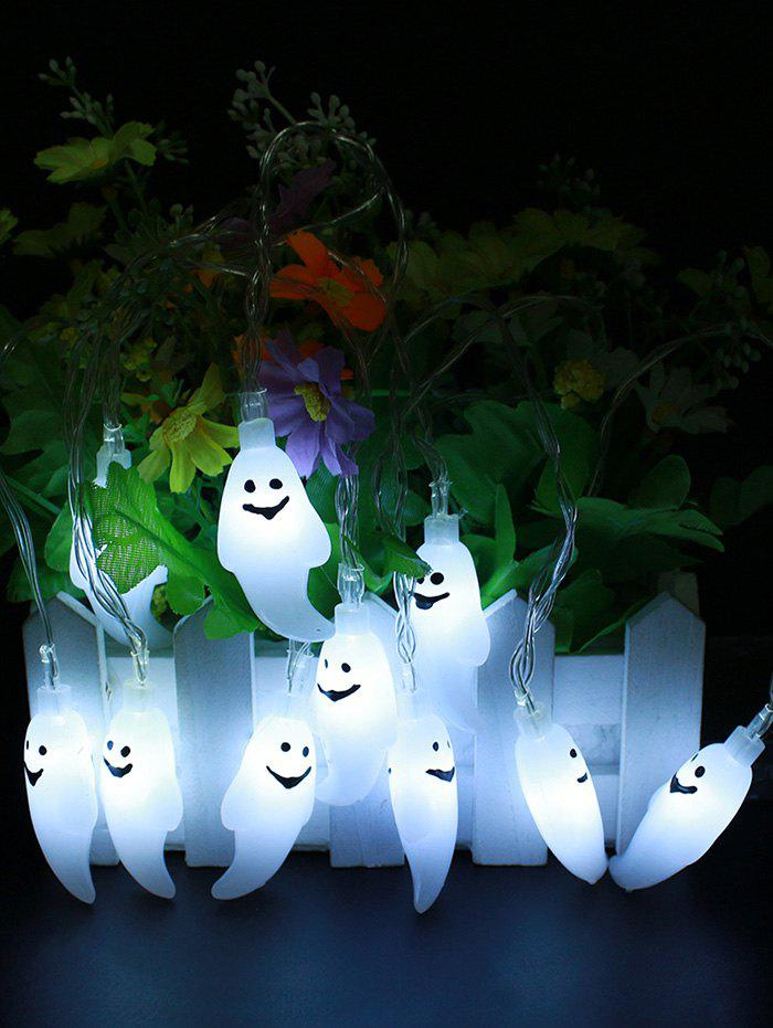 Halloween Cartoon Ghost Design String Light - COOL WHITE