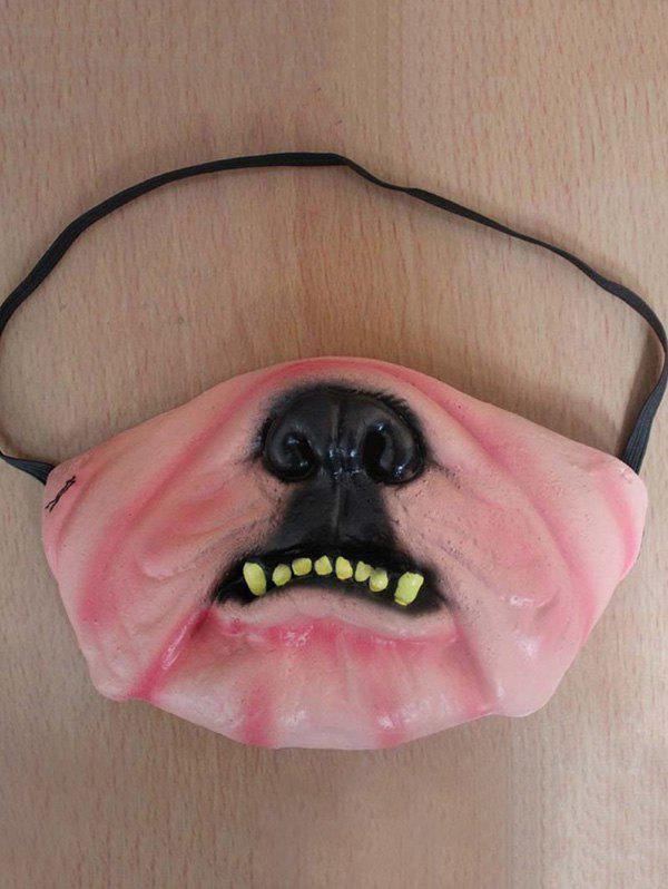 Funny Halloween Party Decoration Latex Mask - multicolor F