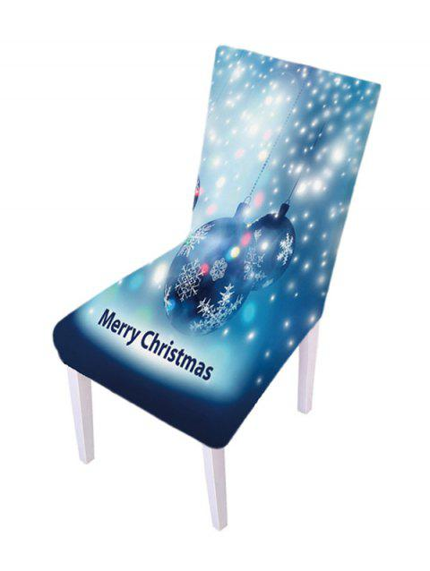 Christmas Design Elastic Chair Covers - multicolor D