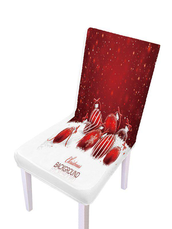 Christmas Pattern Elastic Chair Covers - multicolor B