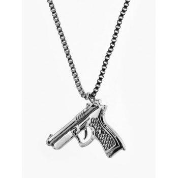Hip-hop Pendant Gun Shape Necklace