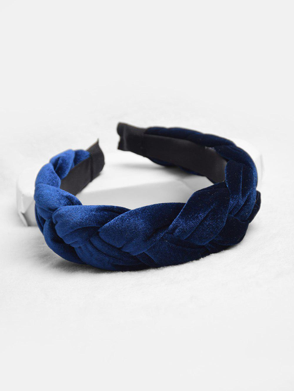 Fried Dough Twist Design Chic Headband - CADETBLUE