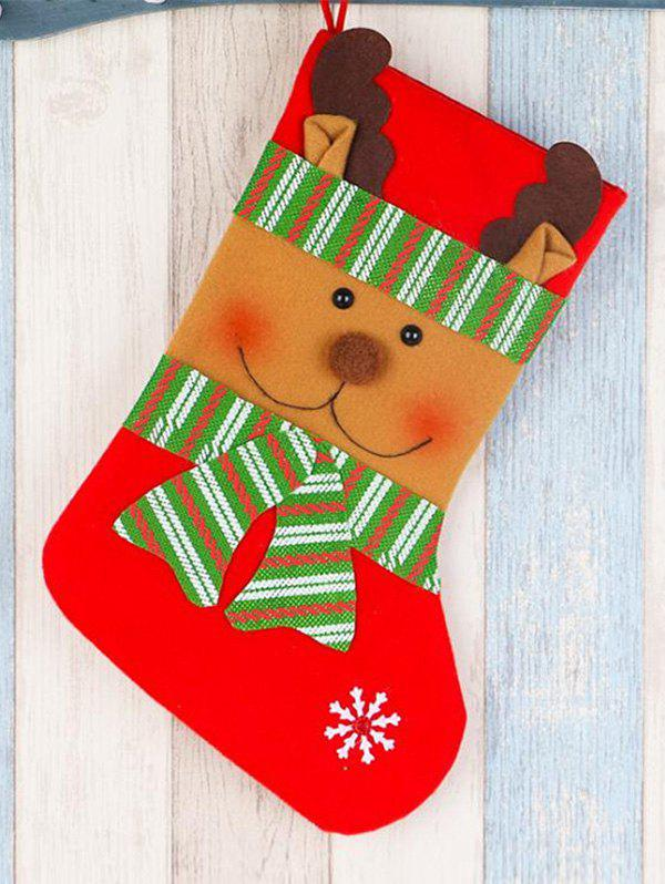 Christmas Hanging Decoration Gift Stocking - multicolor D