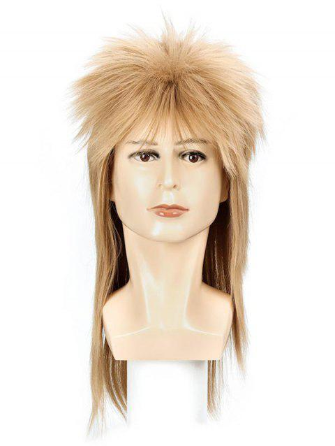 Anime Cosplay Part Long Synthetic Wig - BROWN SUGAR