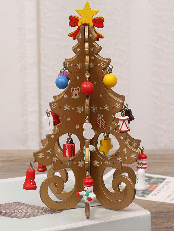 Christmas Decorations DIY Mini Christmas Tree - CAMEL BROWN
