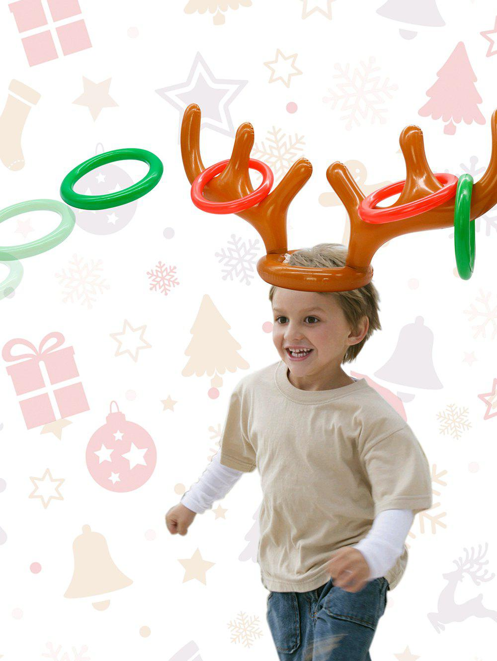 Party Accessories Inflatable Antler Hat Balloon - multicolor A