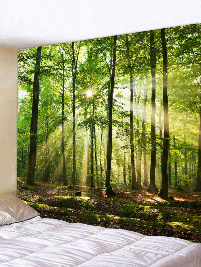 Forest Sunshine Design Tapestry - GREEN ONION W59 X L51 INCH