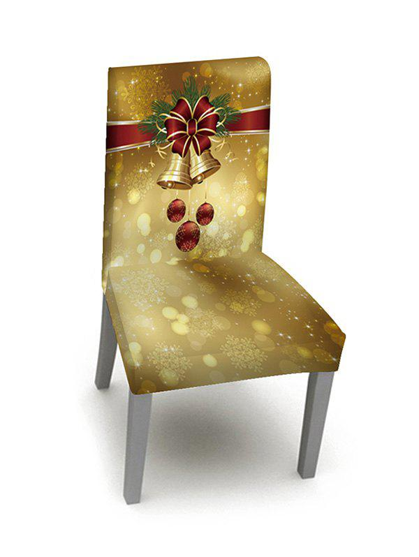 1PCS Christmas Bell Elastic Chair Cover - multicolor W16 X L24 INCH