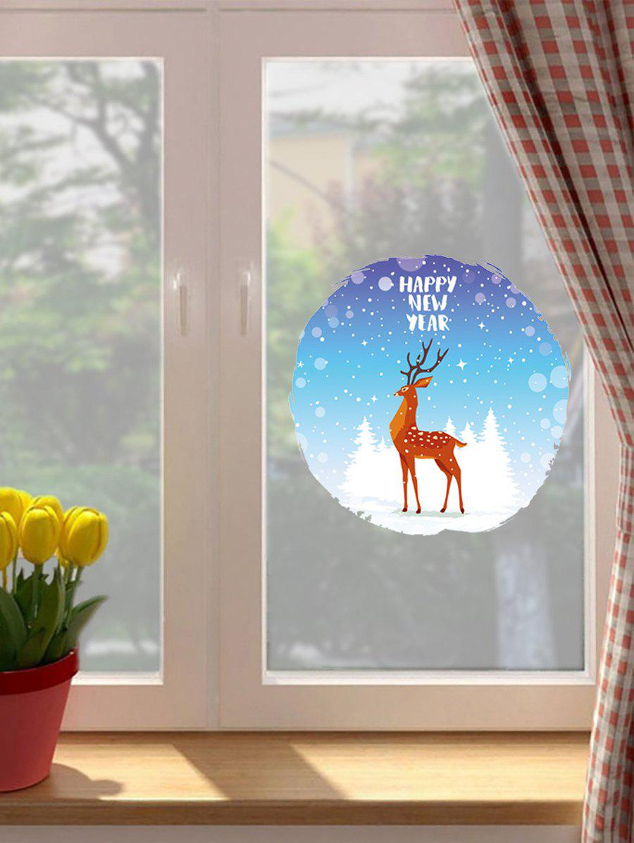 Christmas Pattern Wall Sticker - multicolor A 30*30CM