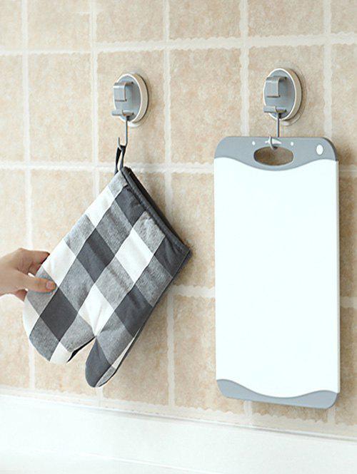 Bathroom Wall-mounted Storage Hanging Hook - GRAY