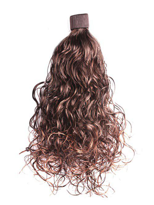 Synthetic Wavy Long Ponytail Hair Piece - SEPIA