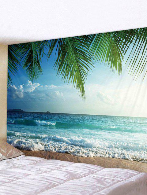 Coconut Tree Sea Print Tapestry