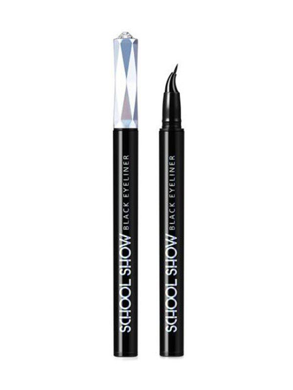 Waterproof One-piece Eyeliner Pen - BLACK