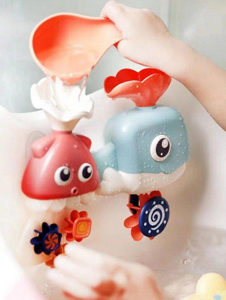 Cartoon Bath Toy - multicolor A