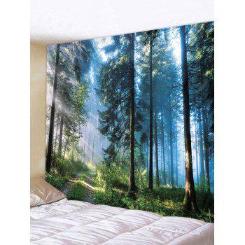 Decor Forest Print Polyester Tapestry