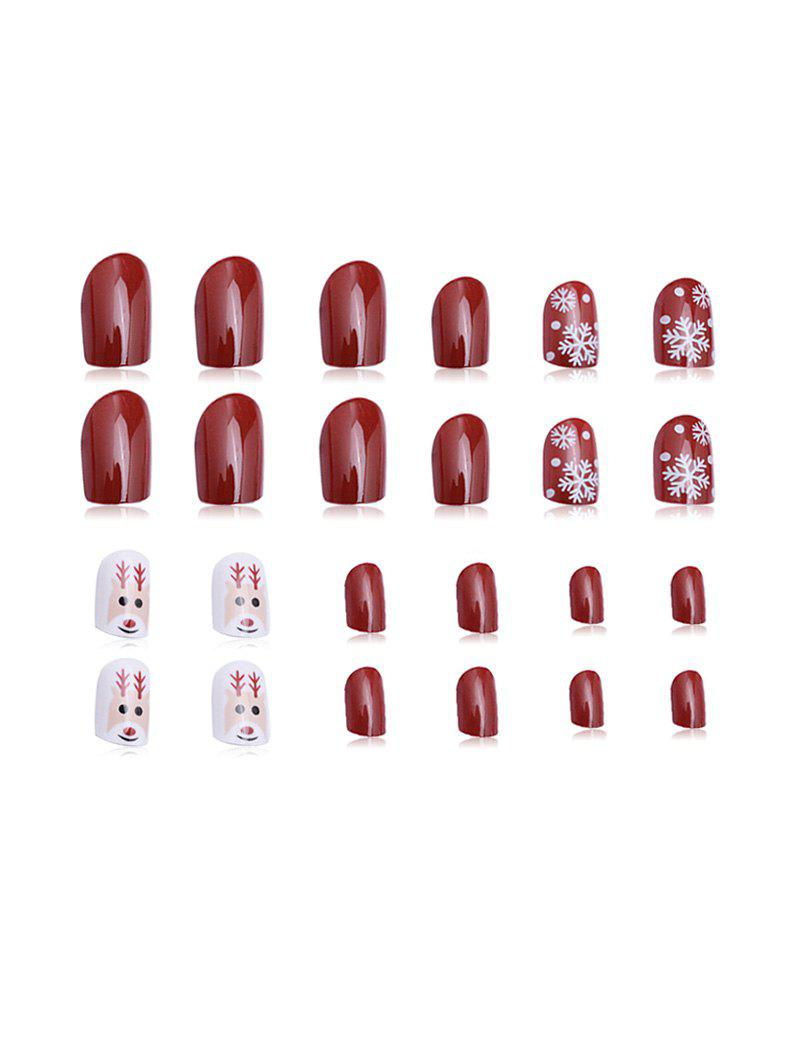 24 PCS Nail décoration stickers ongles - multicolor A