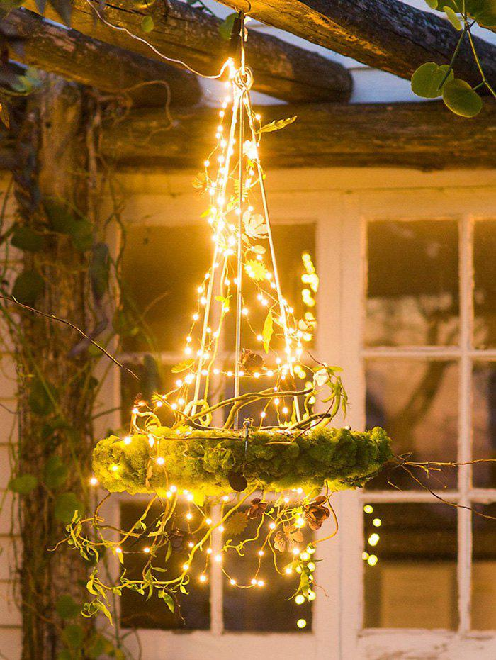LED Outdoor Courtyard Decorated String Lights - multicolor A