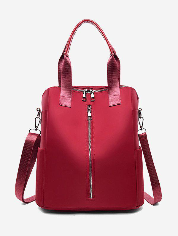 High Capacity Multi Function Backpack - RED WINE