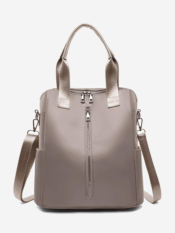 High Capacity Multi Function Backpack - CHAMPAGNE GOLD