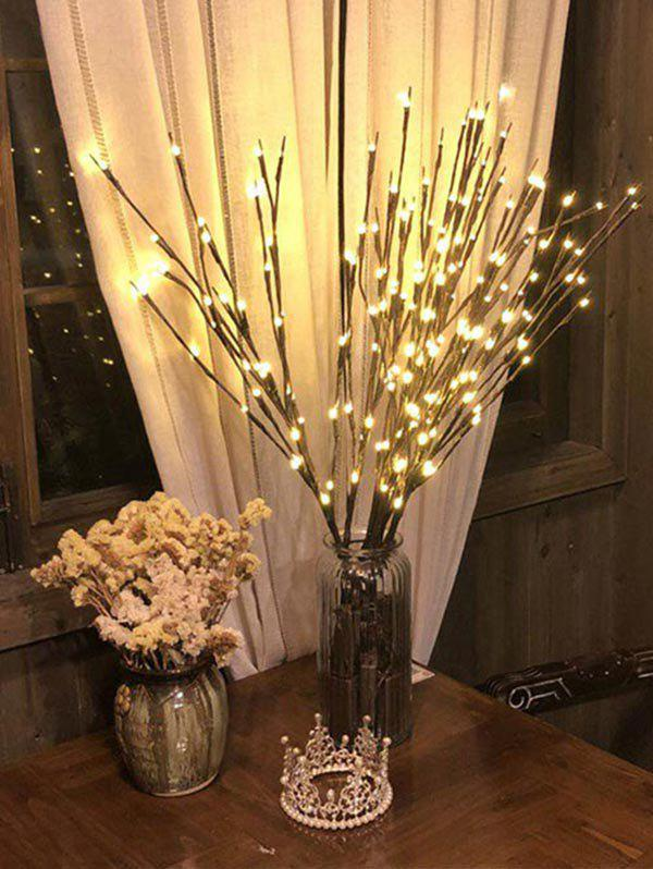 1 PC Branches Shape Decorative LED String Light - multicolor A