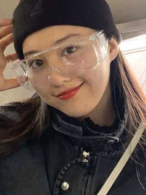 Kitchen Tool Eye Protector Safety Glasses - TRANSPARENT