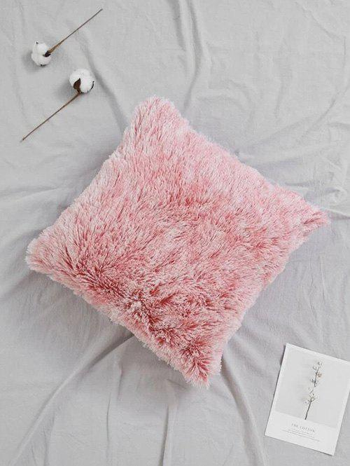 Place en peluche Throw Taie - Rose W18 X L18 INCH
