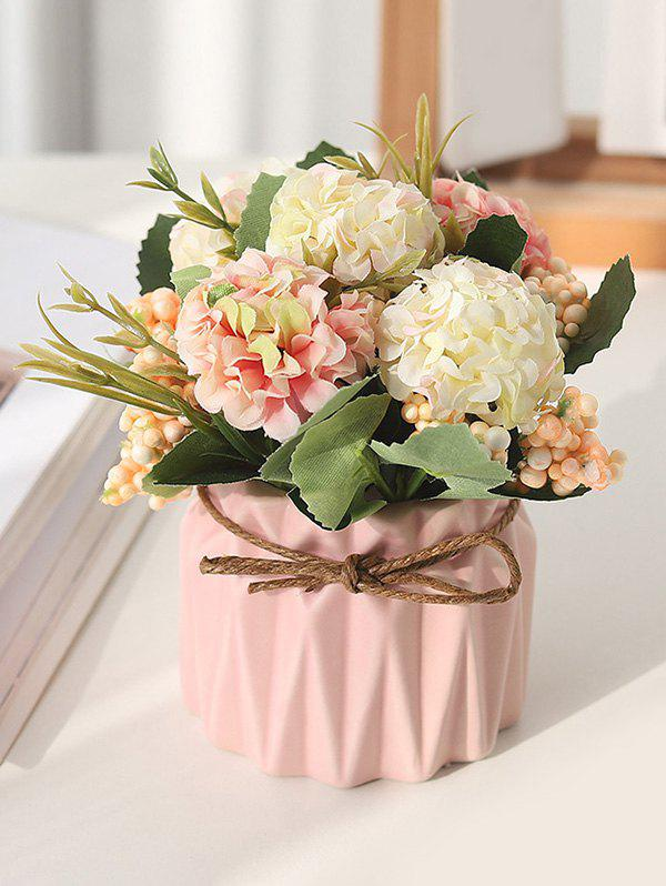 Simulated Flower Pot for Decoration - multicolor A