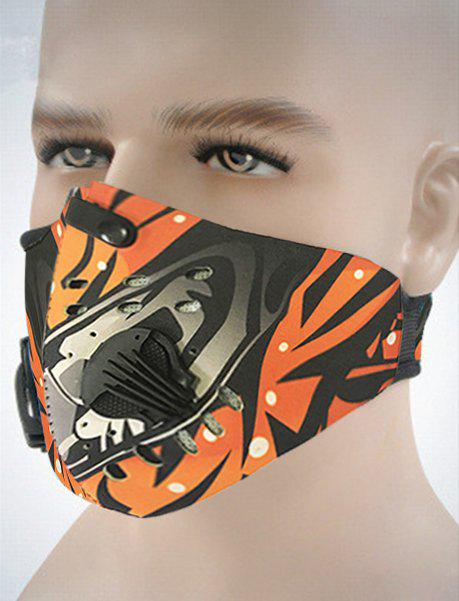 Active Carbon Breathing Cycling Mask - multicolor A