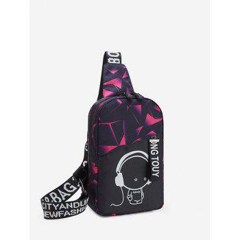 Cartoon Graphic Casual Chest Bag