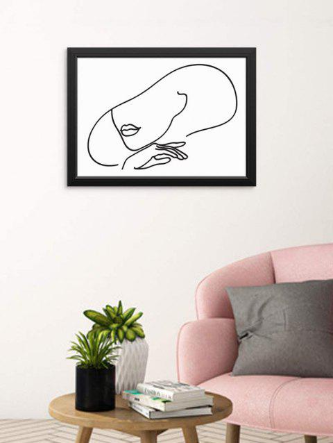 Home Decoration Beauty Sketch Print Wall Poster