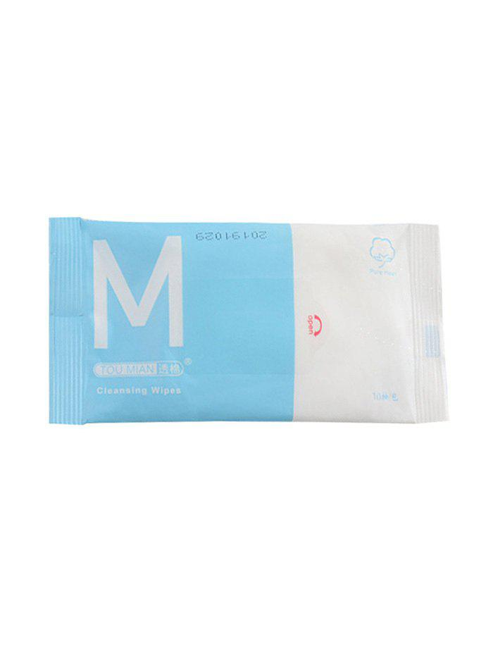 Sterilized Disposable Portable Cleaning Wipes - multicolor A