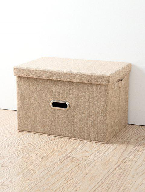Folding Covered Storage Box
