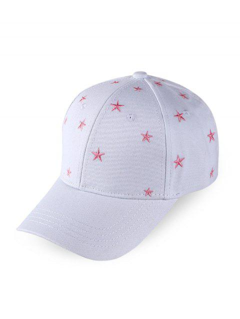 Star Embroidered Sports Baseball Cap