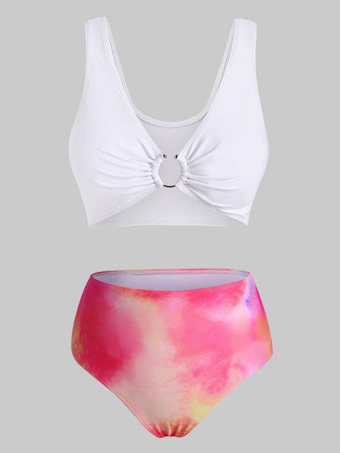 U-bar Tie Dye Bikini Swimwear