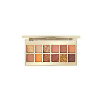 12 Color Chinese Style Foggy Sparkling Eyeshadow Palette