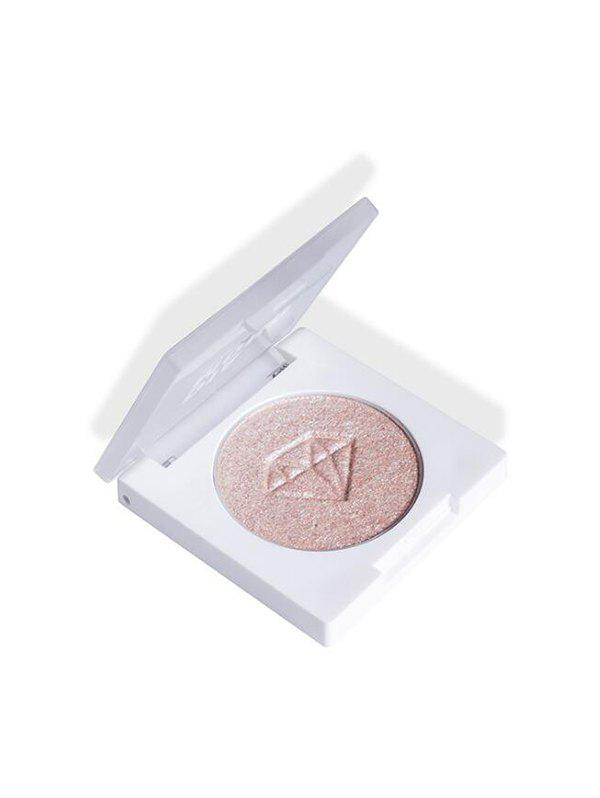Diamond Pattern Highlighter Contour Palette - LIGHT PINK